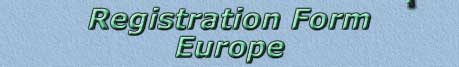 European Workshop Registration at Equine CranioSacral Therapy
